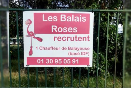 URGENT Les Balais Roses recrutent un chauffeur