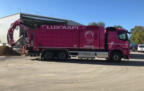 ROSA en service au LUXEMBOURG…